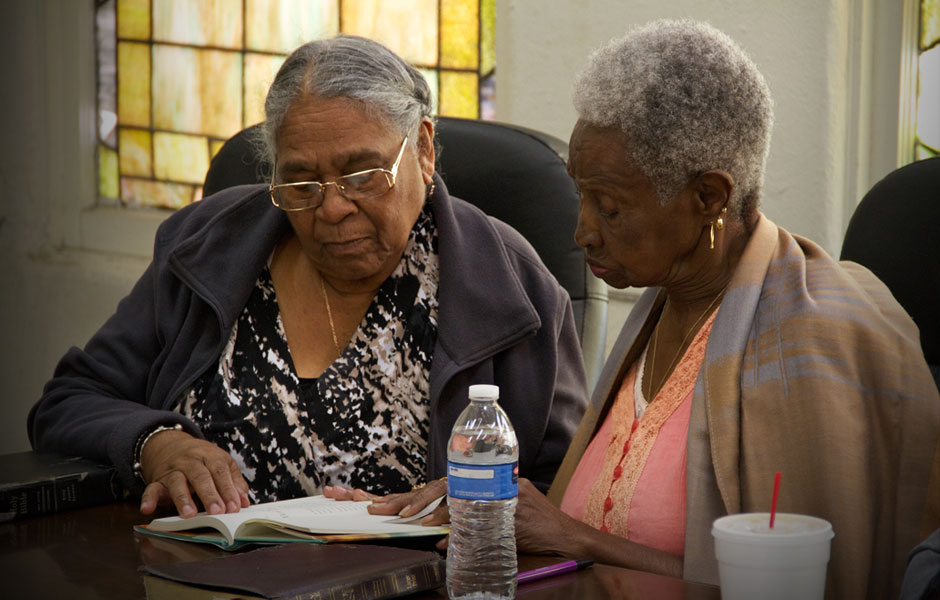 bible study at Westminster Presbyterian Church of Los Angeles