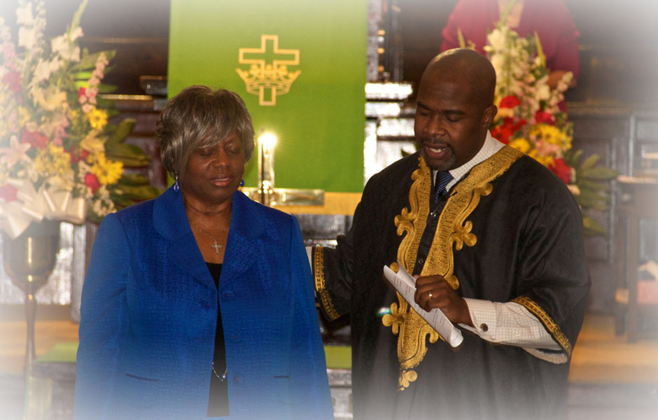 Sunday Service at Westminster Presbyterian Church of Los Angeles