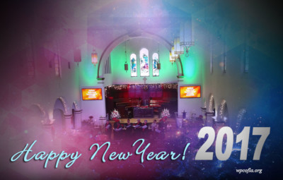 Happy New Year from Westminster Presbyterian Church of Los Angeles