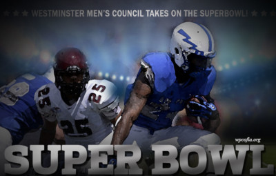 Men's Council host Super Bowl Party