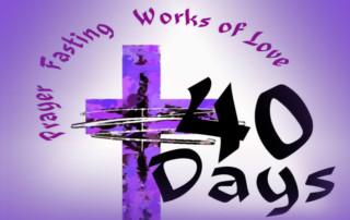 Lenten study schedule + Presbyterian churches Los Angeles