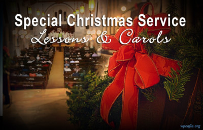 Special Christmas Service in Los Angeles