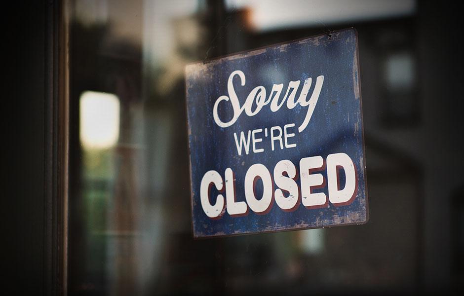 Coronavirus: Church Closed