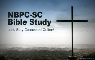 NBPC-SC Bible Study - Online Summer Series