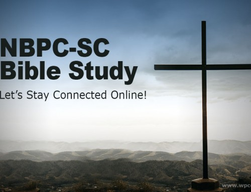 SUMMER ANNOUNCEMENT   |   NBPC-SC Online Bible Study